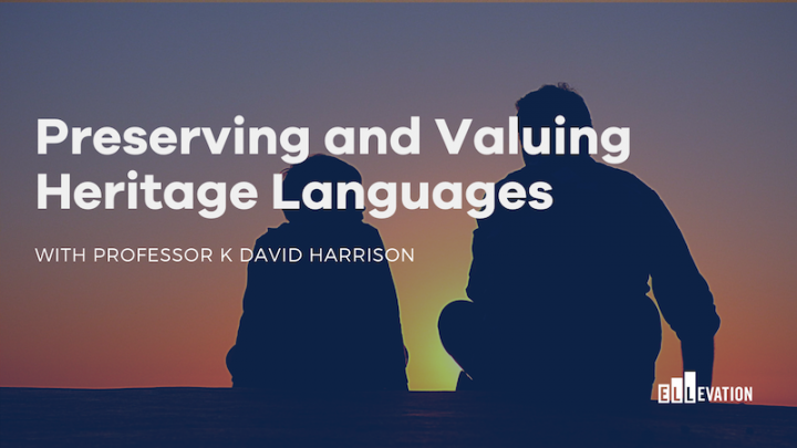 Preserving and Valuing Heritage Languages