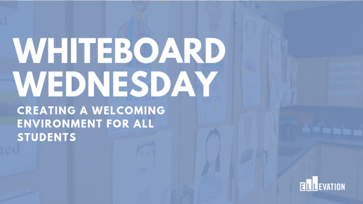 Whiteboard Wednesday - Creating a Welcoming Environment