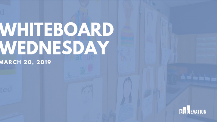 Whiteboard Wednesday - March 20, 2019