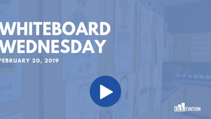 Whiteboard Wednesday - February 20, 2019