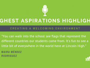 Highest Aspirations Highlights: Creating a Welcoming Environment