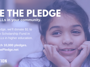Take the Pledge Scholarship: No Accepting Applications