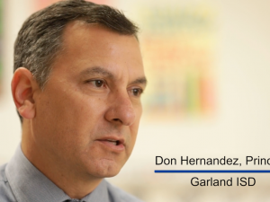 Don Hernandez, Principal - Garland ISD